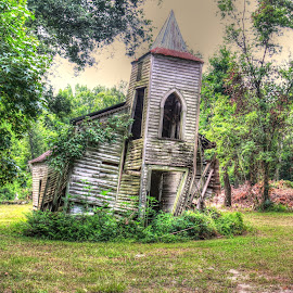 Abandoned Church by Ron Olivier - Buildings & Architecture Decaying & Abandoned ( abandoned church,  )