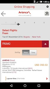 Avianca screenshot 5
