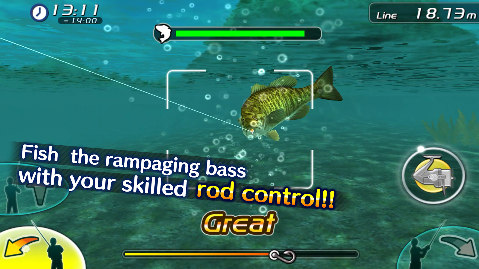 Bass fishing 3d ii android apps on google play for Bass fishing apps