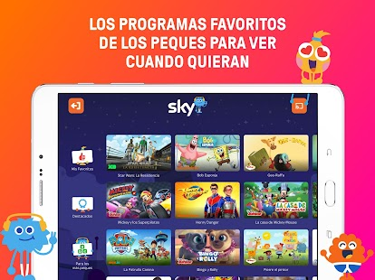 Sky: películas y TV Screenshot