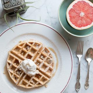 Soft & Fluffy Sweet Potato Waffle