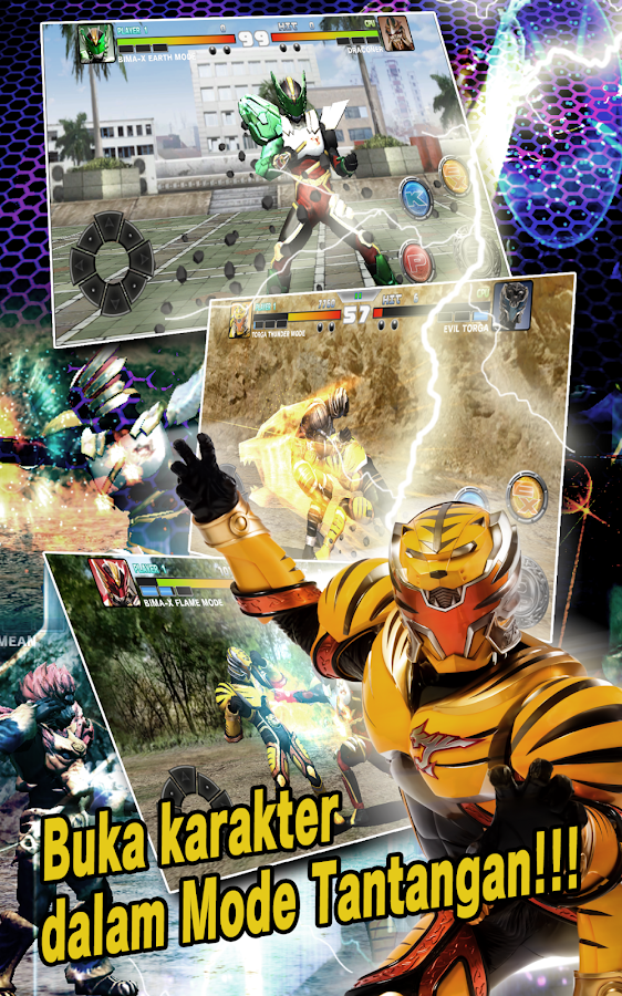 SATRIA HEROES /from Satria Garuda BIMA-X and MOVIE- screenshot