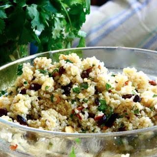 Warm Quinoa Salad with Cumin Lime Vinaigrette Recipe