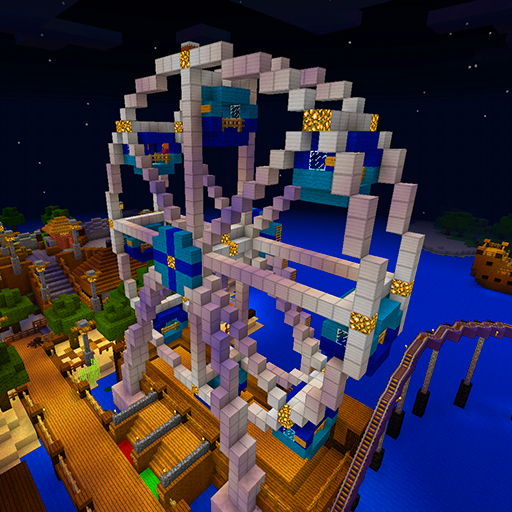 Amusement Park map for MCPE