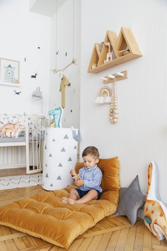 Create A Playing Corner for The Baby Boy