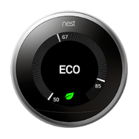 Nest thermostat eco