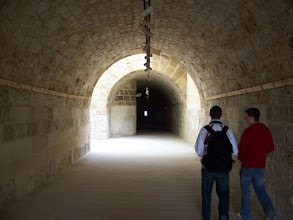 Photo: Tunnels in the walls of the castle.  Fun to wander around in.