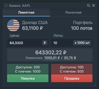Торговля в шорт в Тинькофф Инвестициях