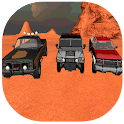 4x4 offroad car racing game 3D icon