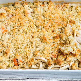 Chicken and Noodle Pot Pie.