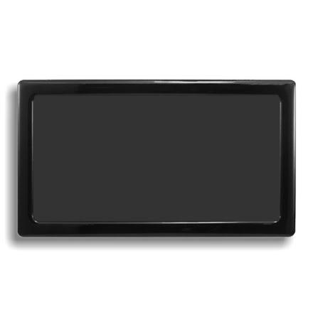 DEMCiflex magnetisk filter 2x92 mm, rektangulær, sort