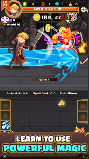 Clicker Knight: Incremental Idle RPG 11 {cheat|hack|gameplay|apk mod|resources generator} 3