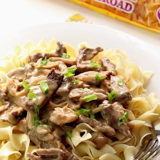 Low Calorie Beef Stroganoff Recipes.