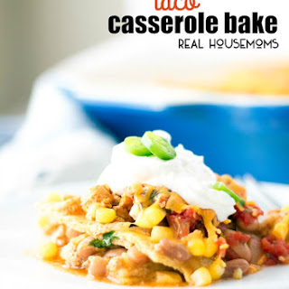 Taco Casserole Corn Tortillas Recipes