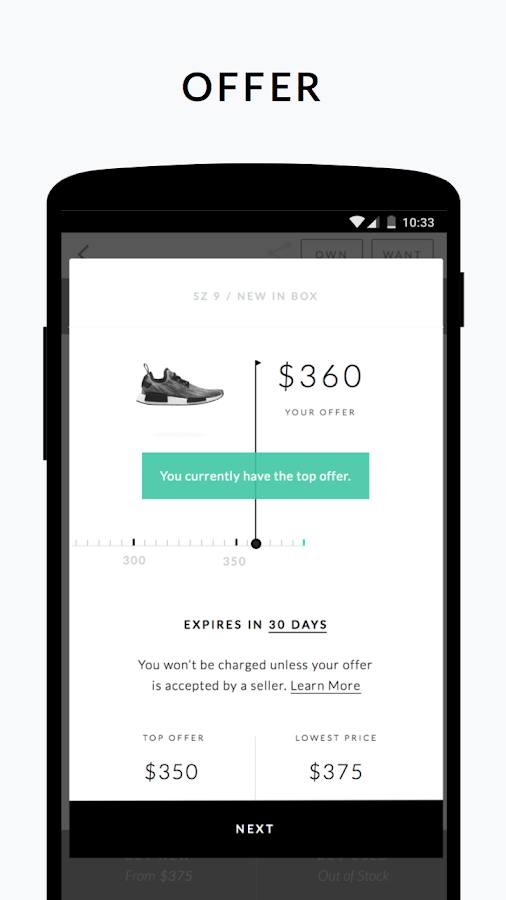 GOAT: Buy & Sell Sneakers- screenshot