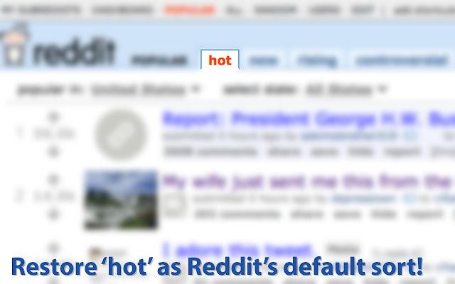 Reddit Hot Swap