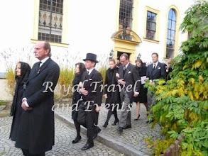 Photo: Count Rupert and Countess Alexandra zu Castell-Rüdenhausen, Count Hermann and Countess Henriette zu Castell-Rüdenhausen, Count Matthias and Countess Victoria zu Castell-Rüdenhausen