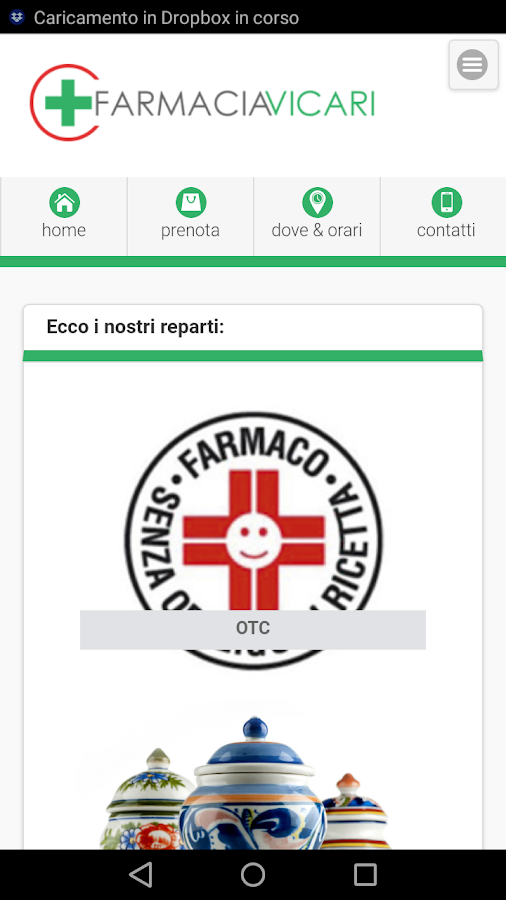 Farmacia Vicari- screenshot