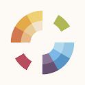 Color Gear Lite: create harmonious color palettes icon