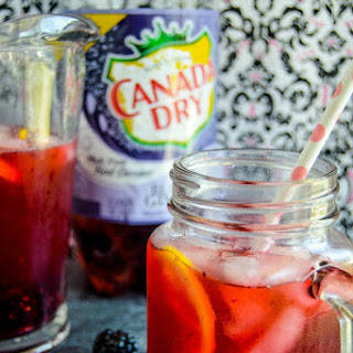 Blackberry Lemon Ginger Fizz.
