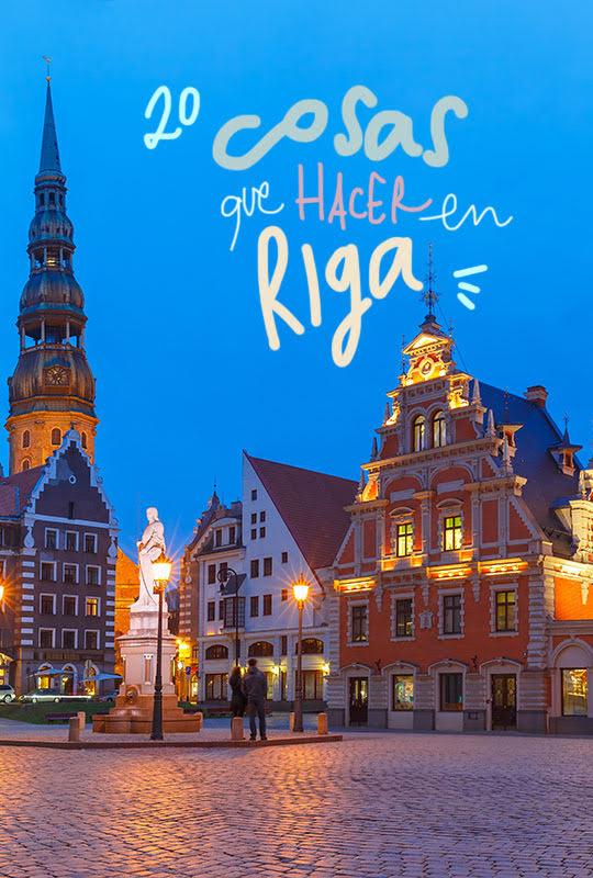 que ver y hacer en Riga