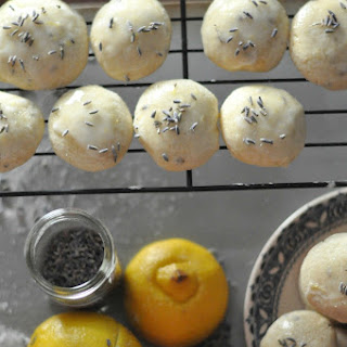 Lemon Lavender Cookies with Lemon Glaze