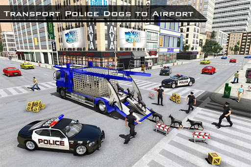 US Police Robot Dog - Police Plane Transporter 1.1 screenshots 14