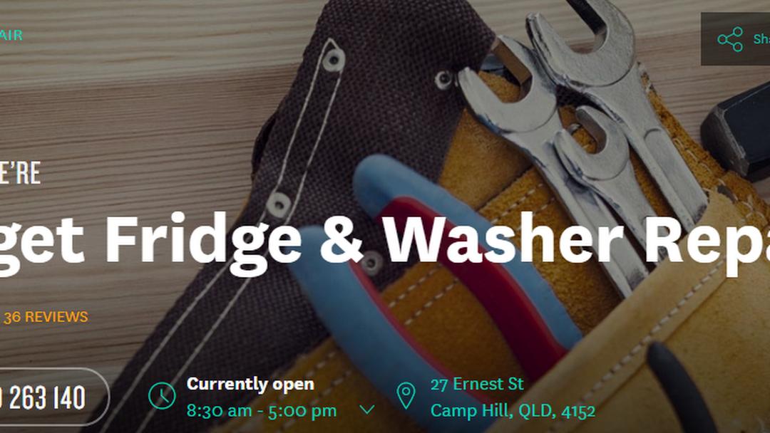 Budget Fridge & Washer Repairs - Repair Service in Brisbane
