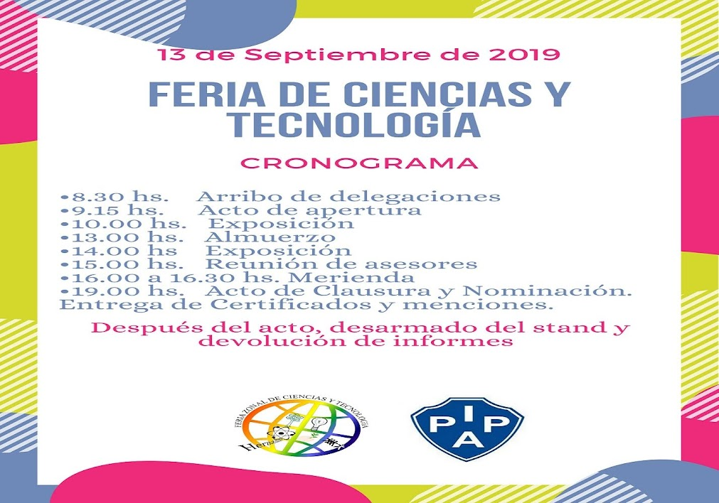 26º FERIA DE CIENCIAS Y TECNOLOGÍA