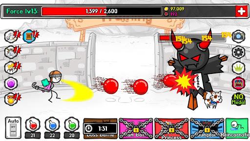 StickMan Hero TAP TAP 1.0 Mod screenshots 2
