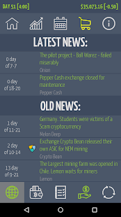 Crypto Market Game - náhled