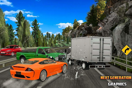 City Highway Traffic Racer - 3D Car Racing apktram screenshots 5