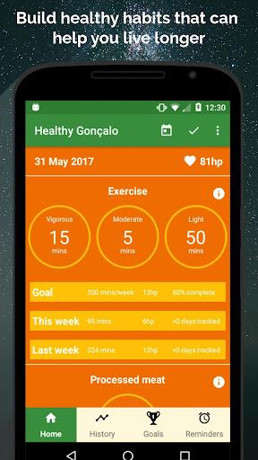 Healthy Habits - Improve Your Health & Live Longer  screenshots 1