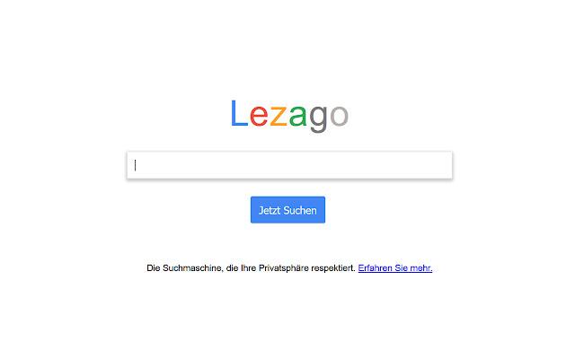 Lezago Go - Die Privatsphäre Suchmaschine