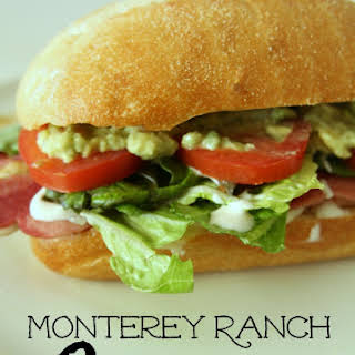 Grilled Monterey Ranch Chicken Club Sandwich.