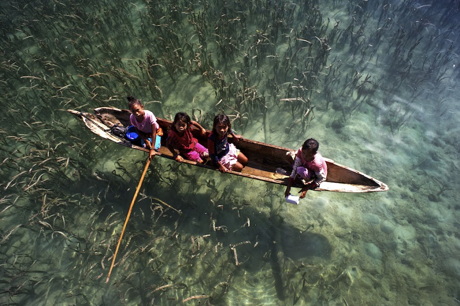 Life....... by CK NG - Landscapes Travel ( heaven, semporna, children, boots, island )
