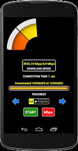 Wifi: Rychlost stahování - náhled