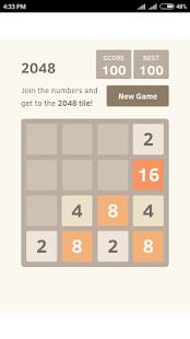 2048 Game Online - náhled