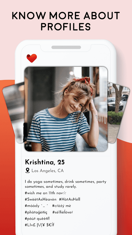Yoga dating app