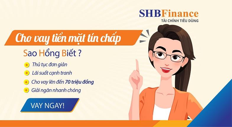 Lợi ích bạn nhận được khi vay tiền mặt bằng thẻ BHYT tại SHB Finance