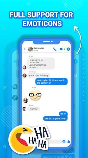 Fake messenger chat, fake chat, prank chat screenshot 1