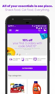 Jet - Online Shopping Deals- screenshot thumbnail