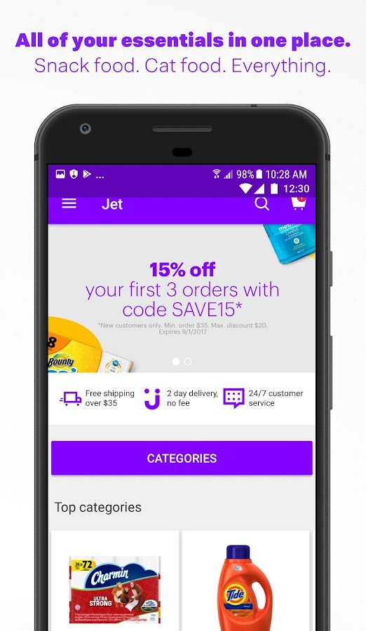 Jet - Online Shopping Deals- screenshot