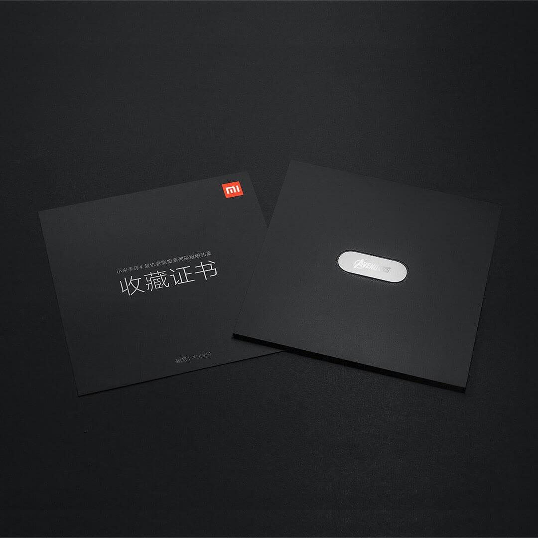 Vòng đeo tay thông minh Xiaomi Mi Band 4 Avengers (Limited Edition)