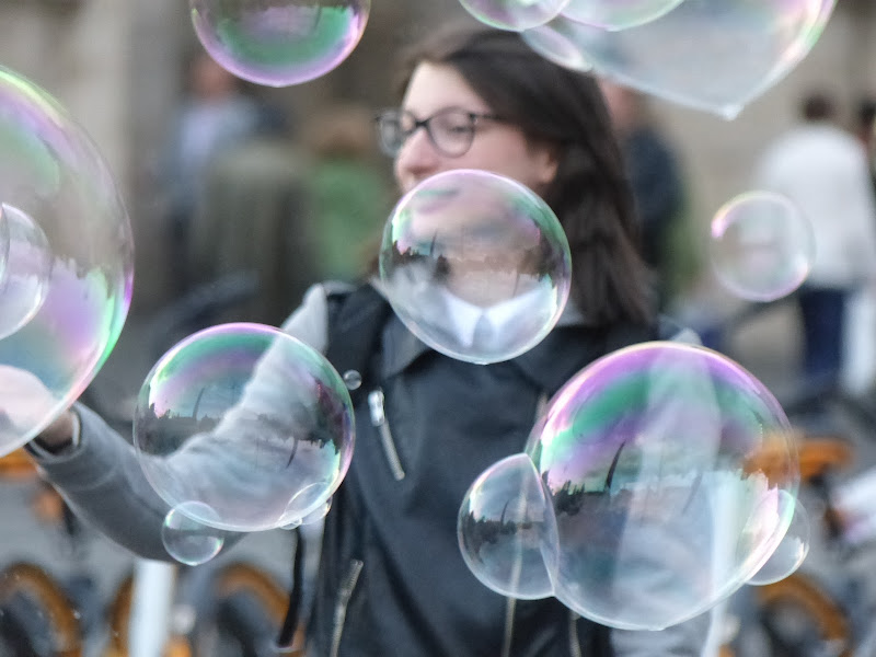Riflessi nelle bolle di carm_ian_