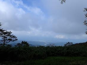 山頂から白鳥方面