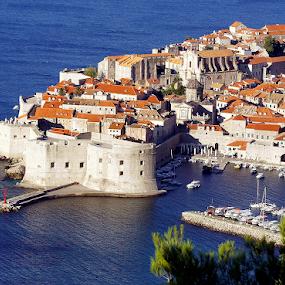 Dubrovnik, Croatia by Roxana McRoberts - Landscapes Travel