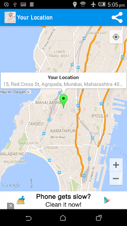 Live Mobile Location Tracker 1.0.6 screenshot 254233