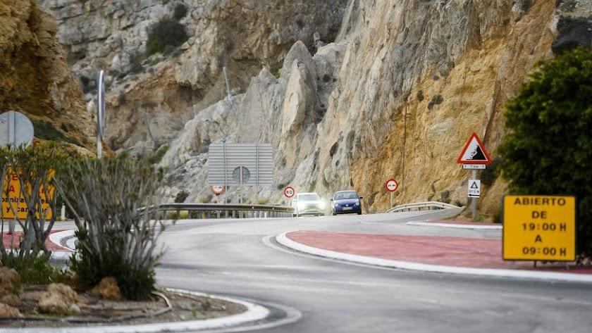 Zona de la carretera de El Cañarete