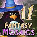 Fantasy Mosaics 11: Fleeing from Dinosaurs icon